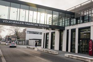 Ein Gebäude von Volkswagen Financial Services am Dienstag (09.01.2018) in der Nordhoffstraße Straße in Braunschweig.