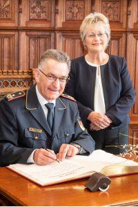 Feuerwehr-Präsident Hartmut Ziebs