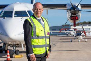 Flughafen-Geschäftsführer Michael Schwarz